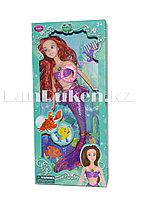 Кукла русалка Ариэль со светящимся хвостом музыкальная 835А
