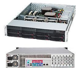 Сервер Supermicro CSE-825TQC-R802LPB /X10DRL-i/1xE5-2650v4/32GB/1x480GB SSD/1x6TB EXOS/2xGLAN /2x800W