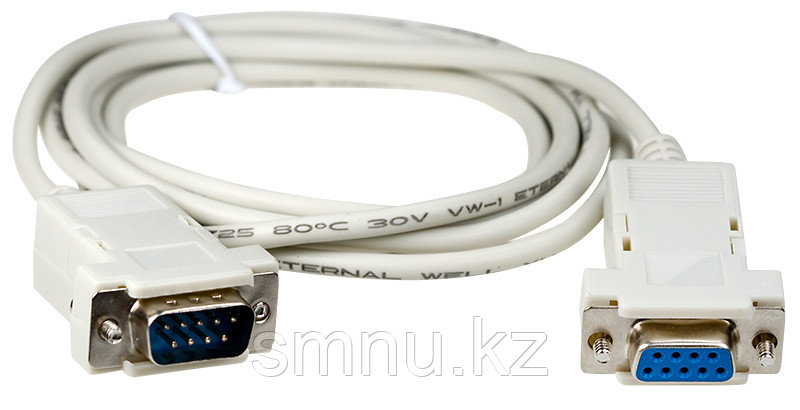 Шнур COM port - COM port  для подключения к компьютеру
