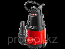 Насос М1 погружной, ЗУБР, дренажный для чистой воды (диаметр частиц до 5 мм), 250Вт, пропуск. спосо, фото 3