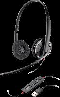 Plantronics  BlackWire C320 (PL-С320),проводная гарнитура,USB, UC