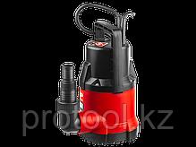Насос М1 погружной, ЗУБР, дренажный для чистой воды (диаметр частиц до 5 мм), 550Вт, фото 2