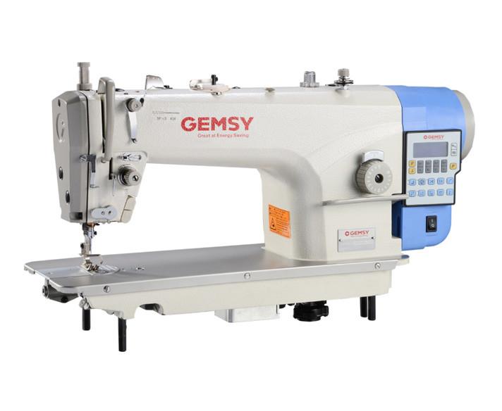 Одноигольная швейная машина челночного стежка с автоматическими функциями Gemsy GEM 8957E-4-Y