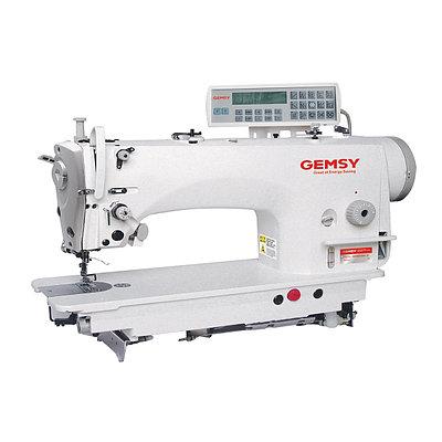 Одноигольная швейная машина челночного стежка с автоматическими функциями Gemsy GEM 9310E-4Y