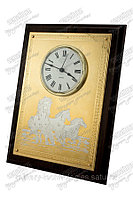 Часы-панно с лошадьми, фото 1