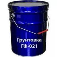 Грунтовка Серая ГФ -021 ведро  20 кг