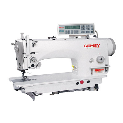 Одноигольная швейная машина челночного стежка с автоматическими функциями Gemsy GEM 9310E-4H-Y
