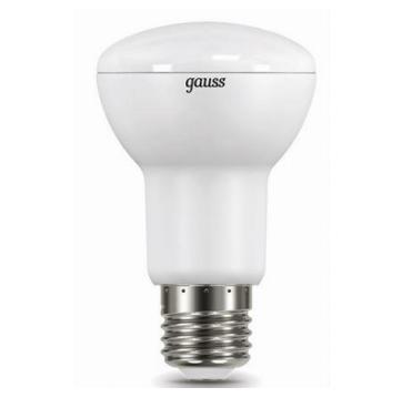 Лампа Gauss LED Reflector R63 E27 9W 2700K 1/10/40