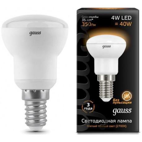 Лампа Gauss R39 E14 4W 2700K