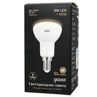 Лампа Gauss R50 E14 6W 2700K