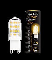 Лампа Gauss LED G9 AC 185-265V 3W 2700K