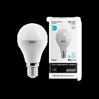 Лампа Gauss LED Globe Crystal clear 3WE14 4100K 1/10/100