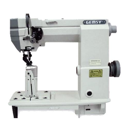 Одноигольная швейная машина челночного стежка с цилиндрической платформой Gemsy GEM 2000-5С