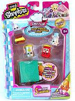Shopkins, Шопкинс (6 сезон) 5 игрушек в упаковке (Тост и Кукурузка)