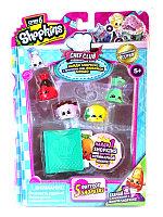 Shopkins, Шопкинс (6 сезон) 5 игрушек в упаковке (Сиропчик и Шоколадные Чипсы)
