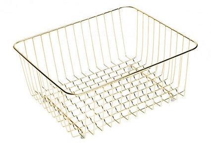 Корзина Omoikiri CO-01-LG для кухонной мойки (4999007) нержавеющая сталь, золото