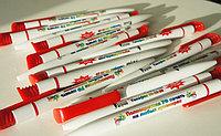 Печать логотипа на ручки. УФ (UV) печать на ручках., фото 1