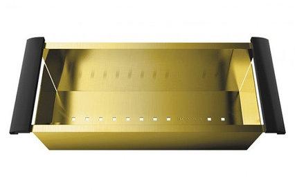 Коландер Omoikiri PVD-LG (4999003) нержавеющая сталь, золото