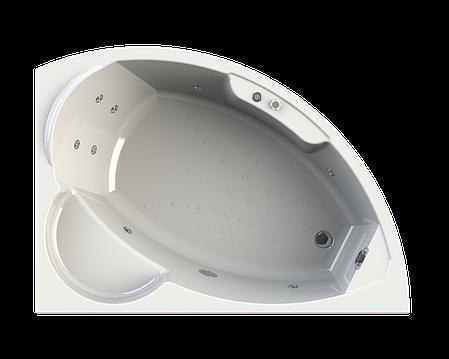 Акриловая гидромассажная ванна АЛАРИ 168*120 см. Москва. Россия, фото 2