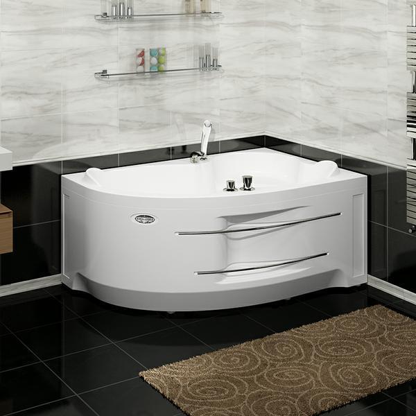 Акриловая гидромассажная ванна ИРМА 169*110 см. Москва. Россия