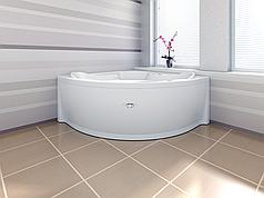 Акриловая гидромассажная ванна САНДРА, 149*149 см. Москва. Россия