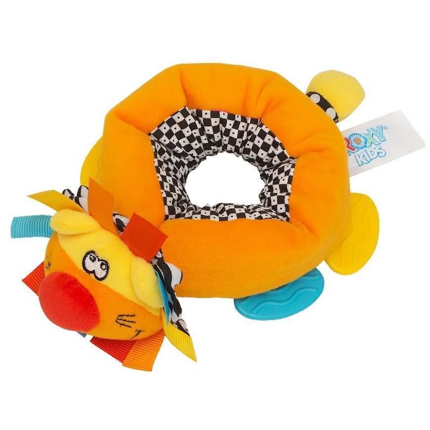 Игрушка-браслет Roxy Kids с прорезывателем Львенок Бьонс