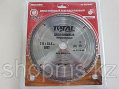 Диск пильный TOTAL TOOLS 210*25,4(60Т)