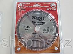Диск пильный TOTAL TOOLS 180*25,4(60Т)