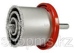 Набор коронок по керамич. плитке, 33-53-67-73-83 мм + напил., в пласт.боксе, 6-гран. MATRIX АКЦИЯ
