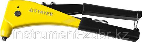 """Заклепочник, STAYER ProFix """"RX600"""" 3104, литой корпус, для заклепок d=2,4 / 3,2 / 4,0 / 4,8 мм - алюминий и сталь, фото 2"""