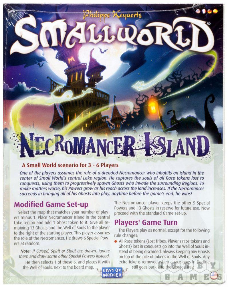 Настольная игра: Маленький Мир: Остров Некроманта
