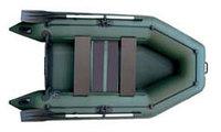 Лодка надувная Kolibri KM-260 (слань-коврик) Z84825 зеленый