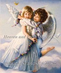 """Картины по номерам - """"Объятия ангелов"""""""