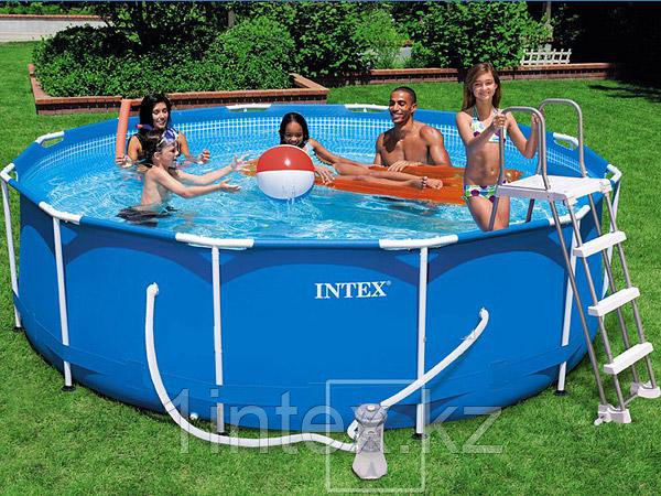 Каркасный бассейн Metal Frame 3,66х0,99 м Intex с фильтром