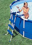 Каркасный бассейн Metal Frame 3,66х0,99 м Intex с фильтром, фото 2