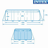 Бассейн каркасный Ultra Frame прямоугольный 400x200x100 см + аксессуары, фото 3