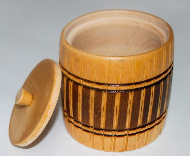 Посуда из натурального дерева