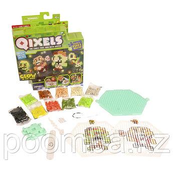 Qixels Набор для творчества Зомби (светится в темноте)