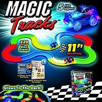 Волшебный трек, Magic Tracks, 220 деталей, с двумя машинками, Оригинал