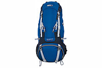 Рюкзак HIGH PEAK Мод. SHERPA 65+10 (65+10л.)(2,04кГ)(синий/темно-серый) R 89224