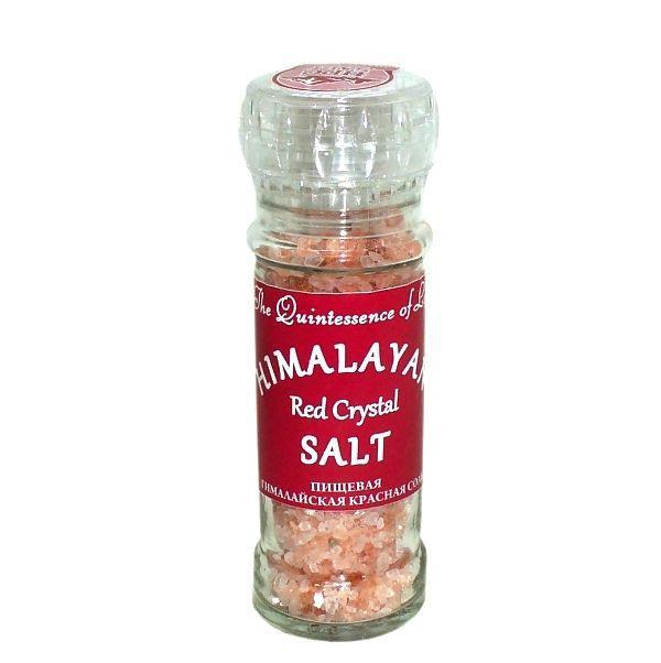 Пищевая гималайская соль КРАСНАЯ мельничка 120 гр (Гималайская Соль)
