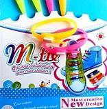Шнурки силиконовые для обуви M-tie, фото 2
