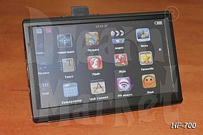 GPS-навигатор HF-701, 7 дюймов, ОЗУ 128 Мб, память 8 Гб, карты