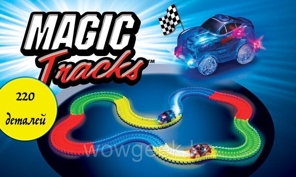 Гнущийся и светящийся гоночный трек MAGIC TRACKS