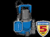 Насос Т3 погружной, ЗУБР Профессионал НПЧ-Т3-750, дренажный для чистой воды (d частиц до 5мм), 750Вт,пропуск.