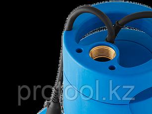 Насос Т5 погружной, ЗУБР Профессионал НПЧ-Т5-1000-С, дренажный для чистой воды (d частиц до 5мм), 1000Вт, нерж, фото 2