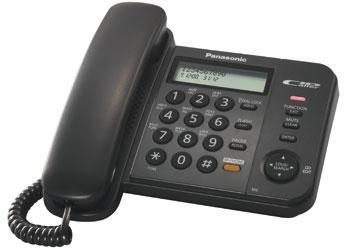 Panasonic KX-TS2358RUB проводной телефон