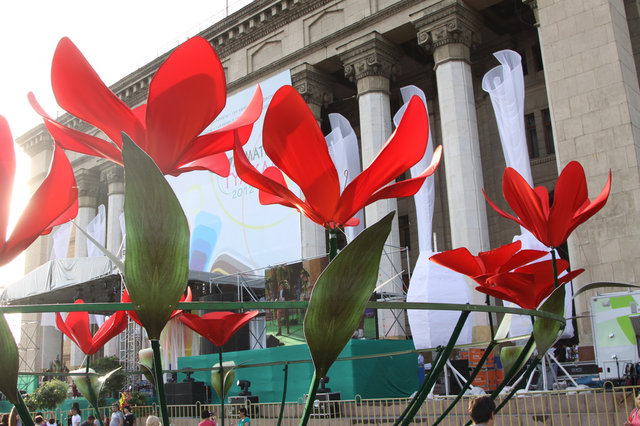 Фестиваль цветов Гулкала 2012 -1