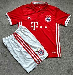 Детская футбольная форма Бавария (Bayern)-оригинал17/18