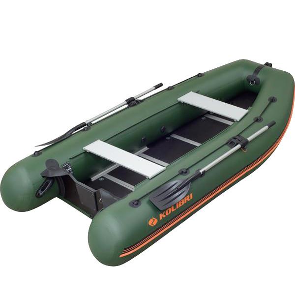 Лодка надувная Kolibri KM-400DSL Z84838 оливковый